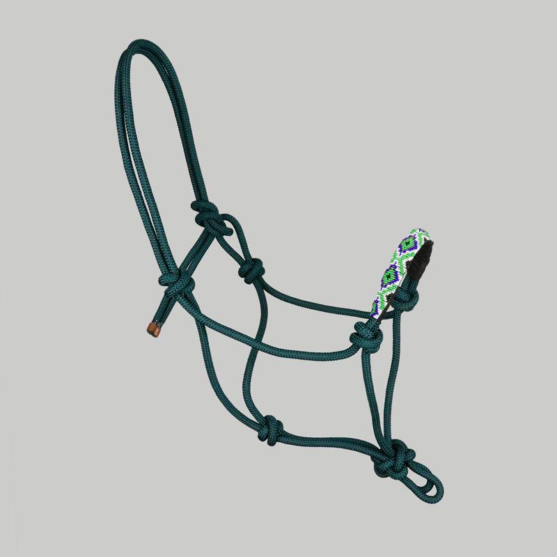 Cabresto de corda com miçangas Boots Horse 04