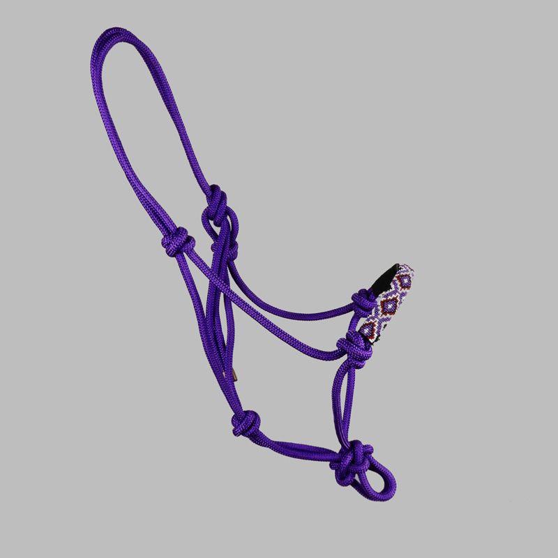 Cabresto de corda com miçangas Boots Horse 06