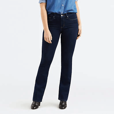 Calça Jeans Levis 315 Shaping Bootcut