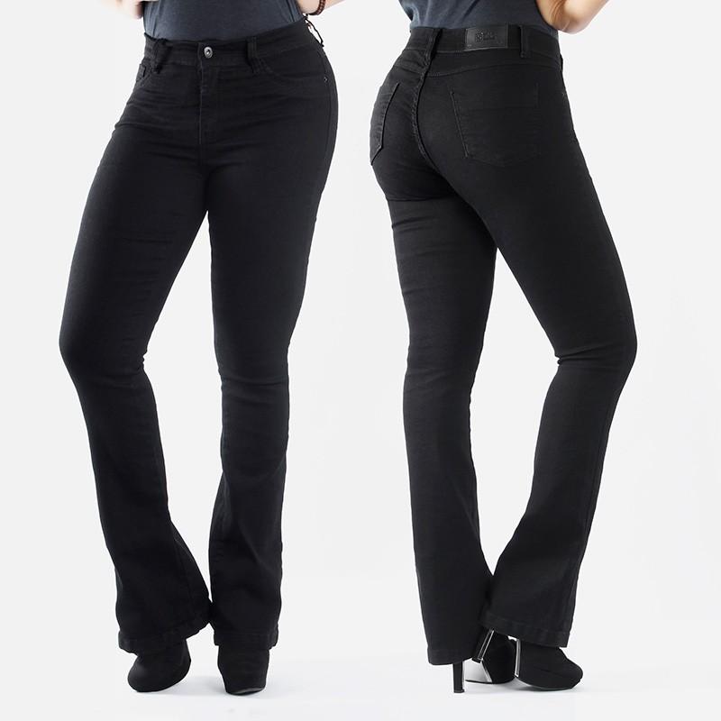 Calça TXC Brand feminina Black Flare