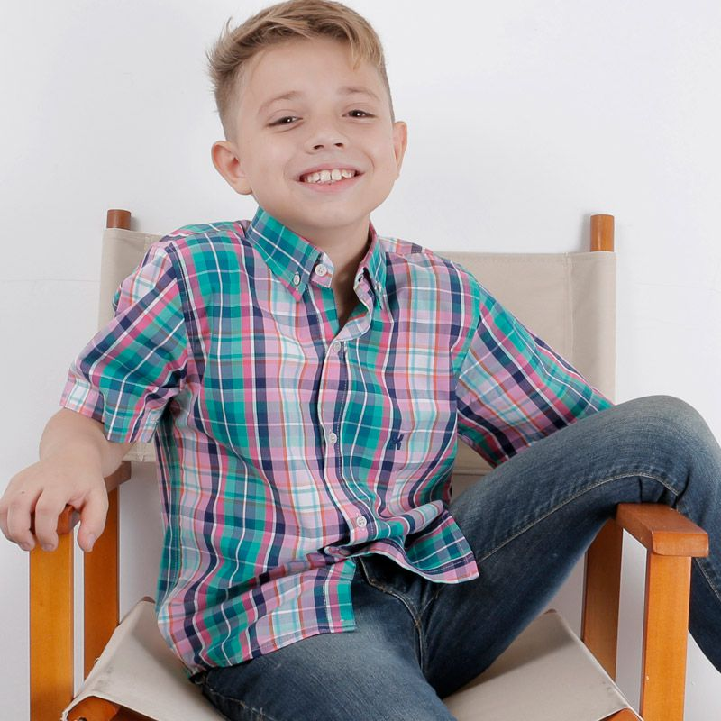 Camisa infantil TXC Brand 17000IC
