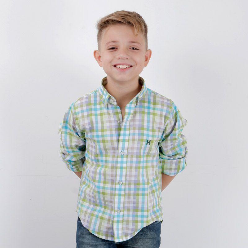 Camisa infantil TXC Brand 17003I