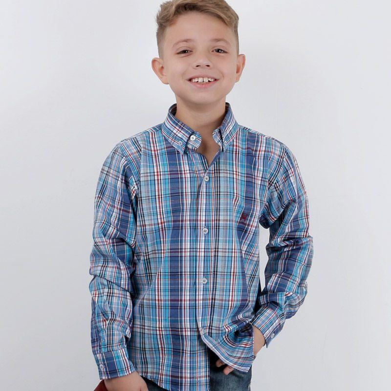 Camisa infantil TXC Brand 17005I