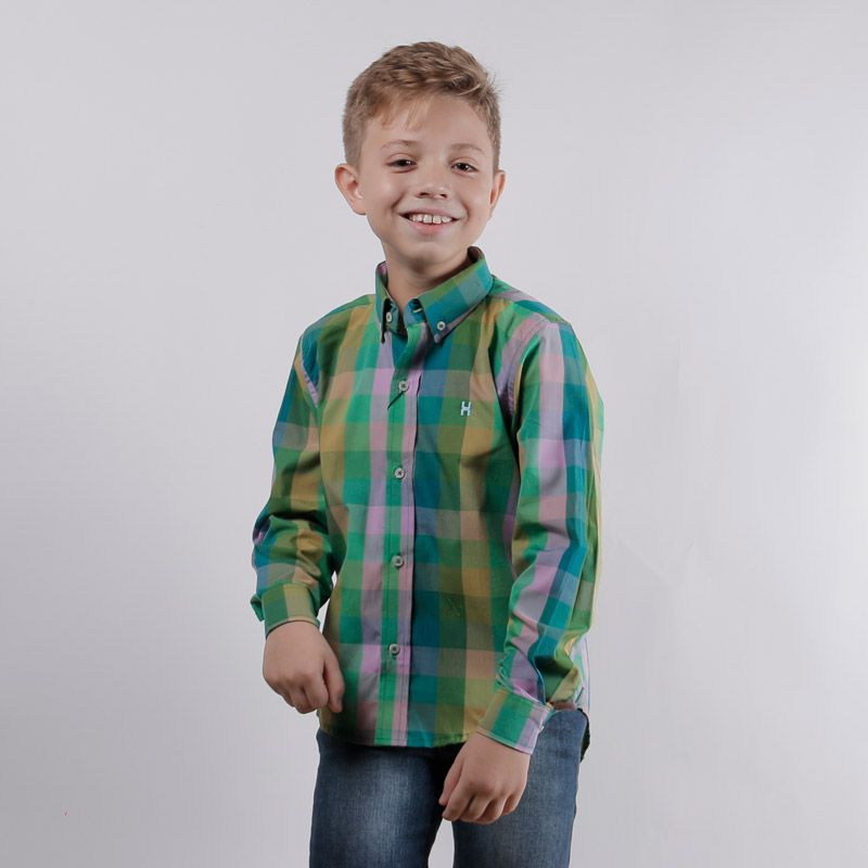Camisa infantil TXC Brand 17012I