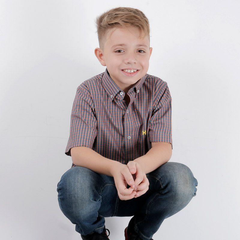 Camisa infantil TXC Brand 2158