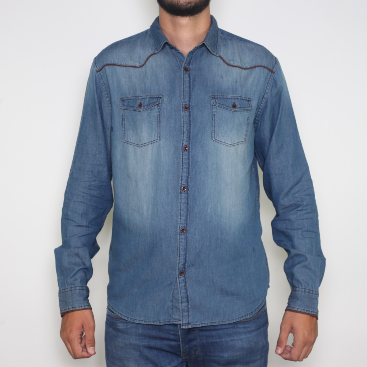Camisa Ranch Wear Jeans 02