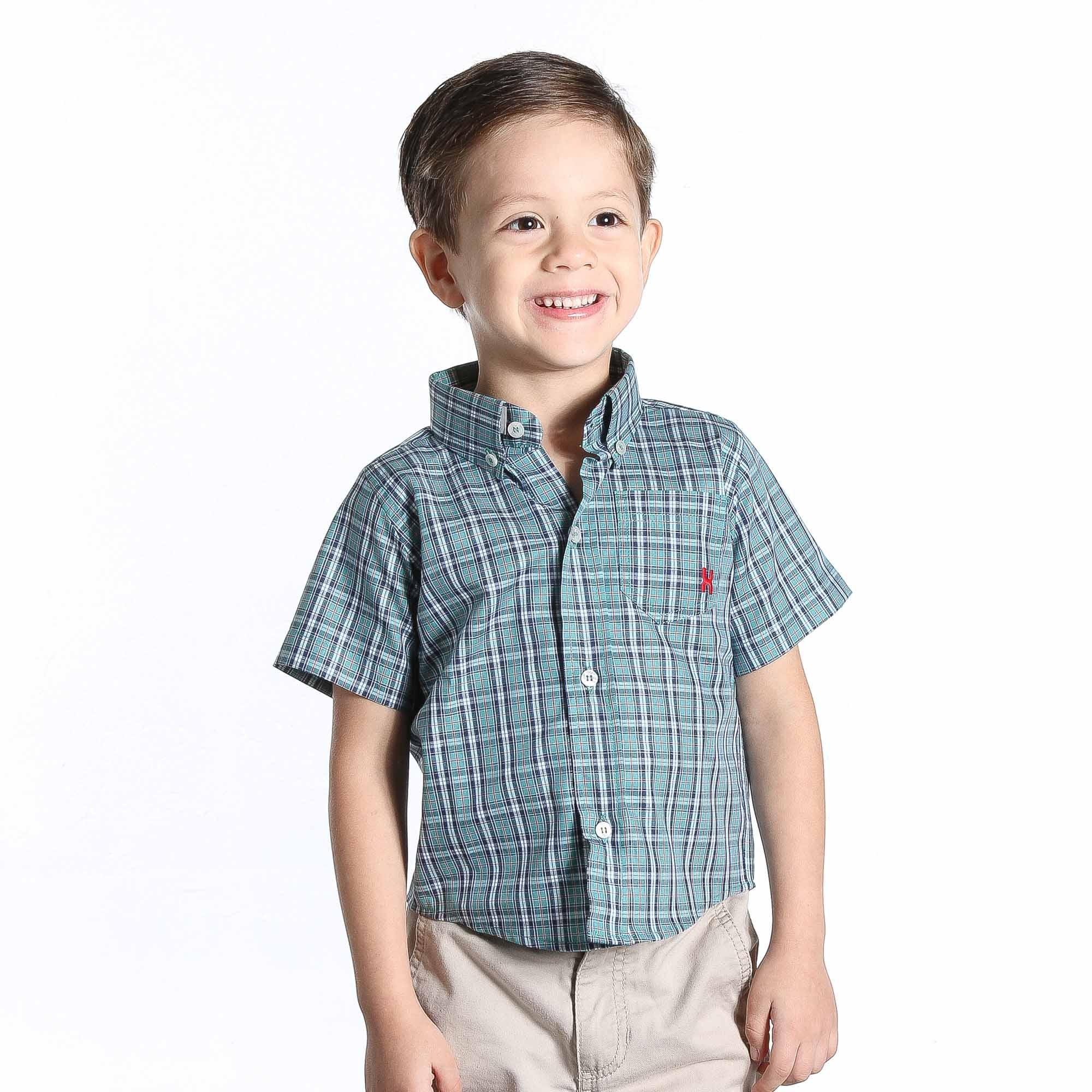 Camisa TXC Brand Infantil manga Curta 17050I