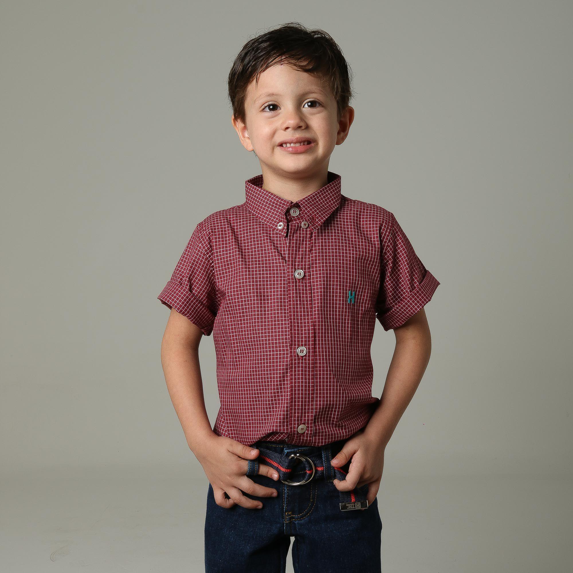Camisa TXC Brand Infantil Manga Curta 17073I
