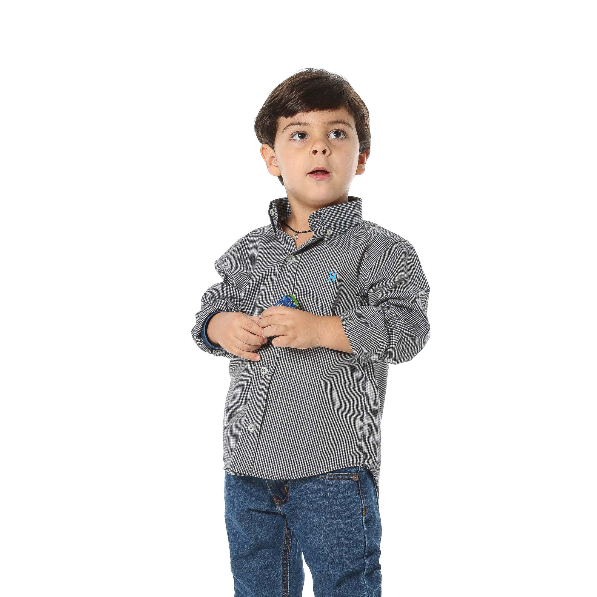 Camisa TXC Brand Infantil Manga Longa 17049I
