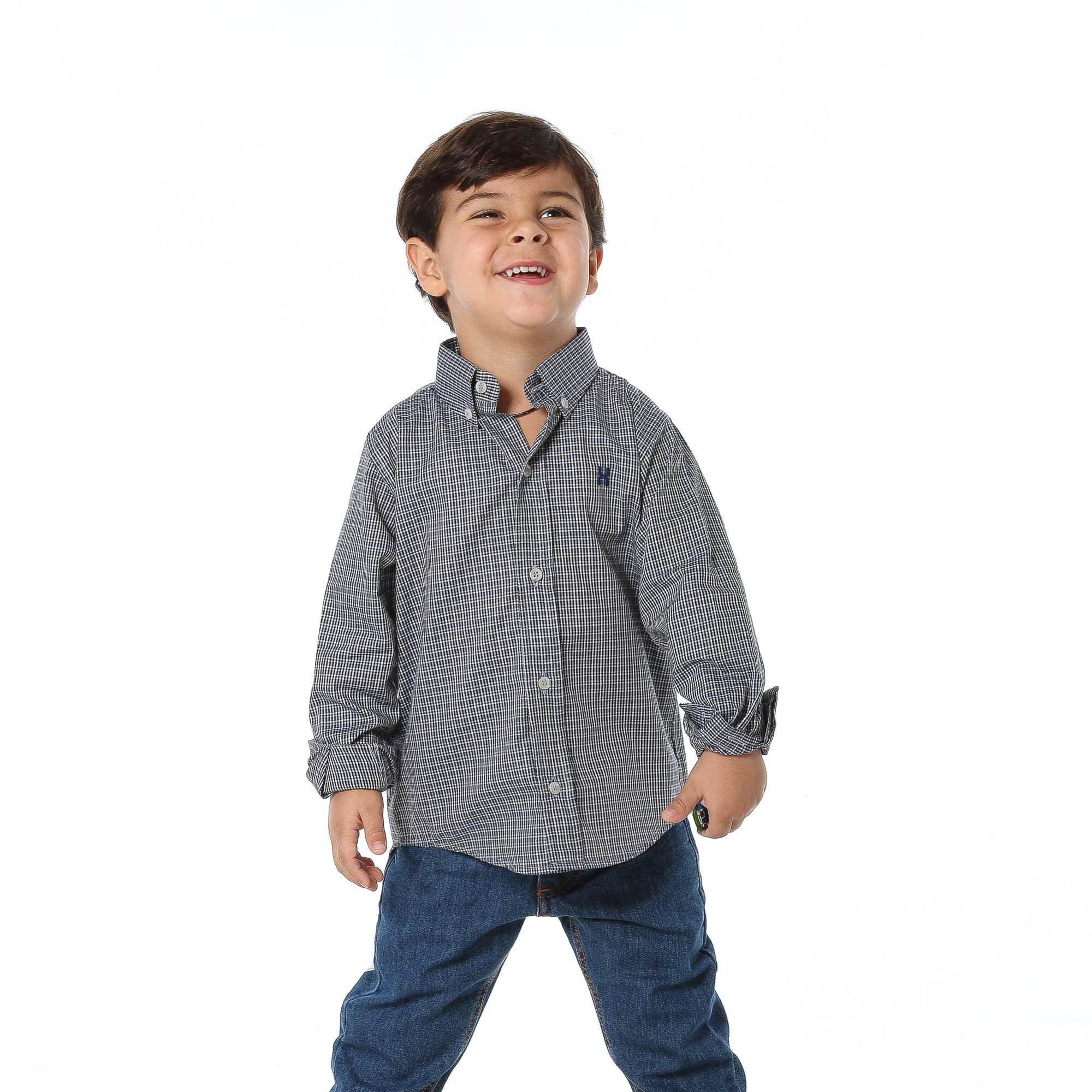 Camisa TXC Brand Infantil Manga Longa 17052I