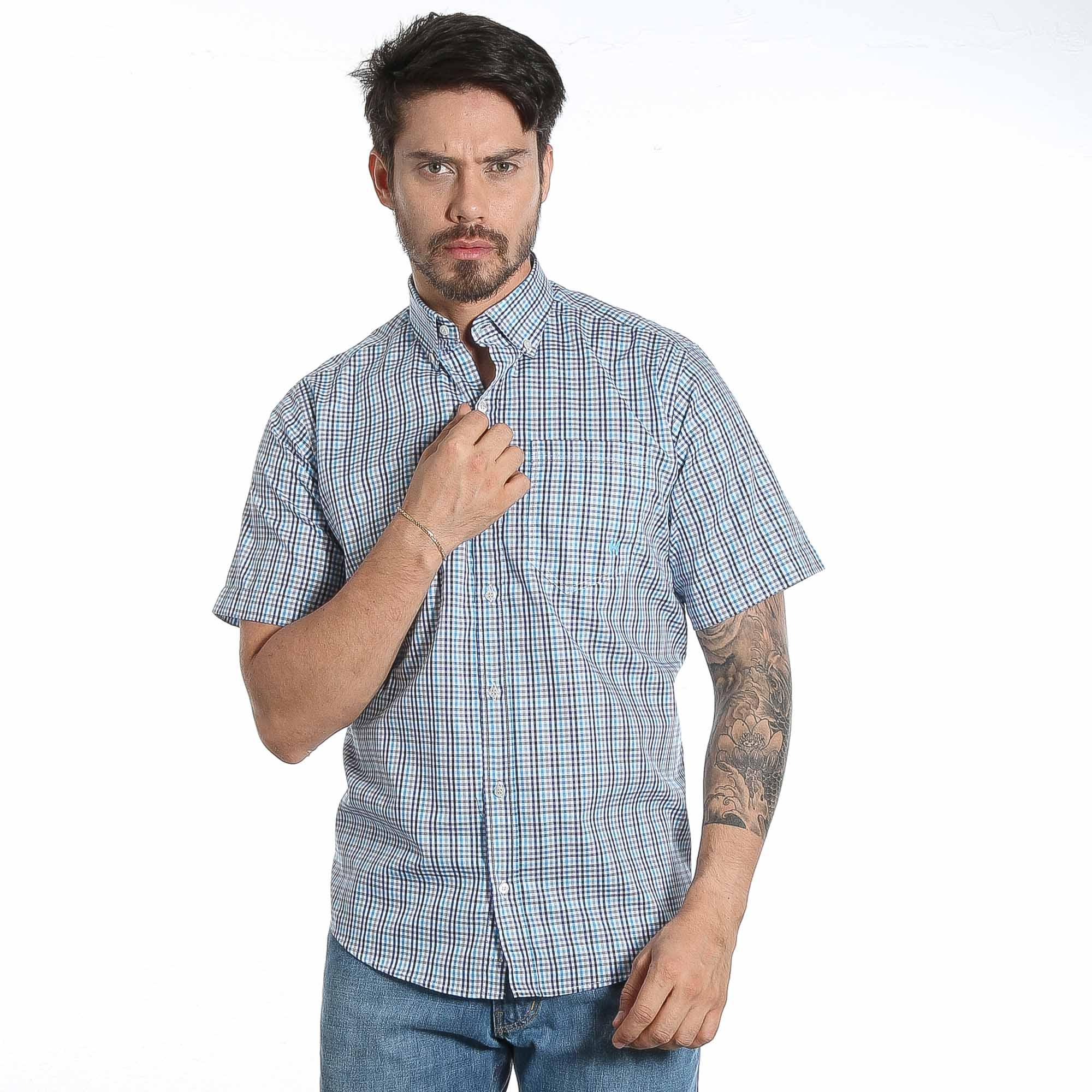 Camisa TXC Brand manga curta 2387C