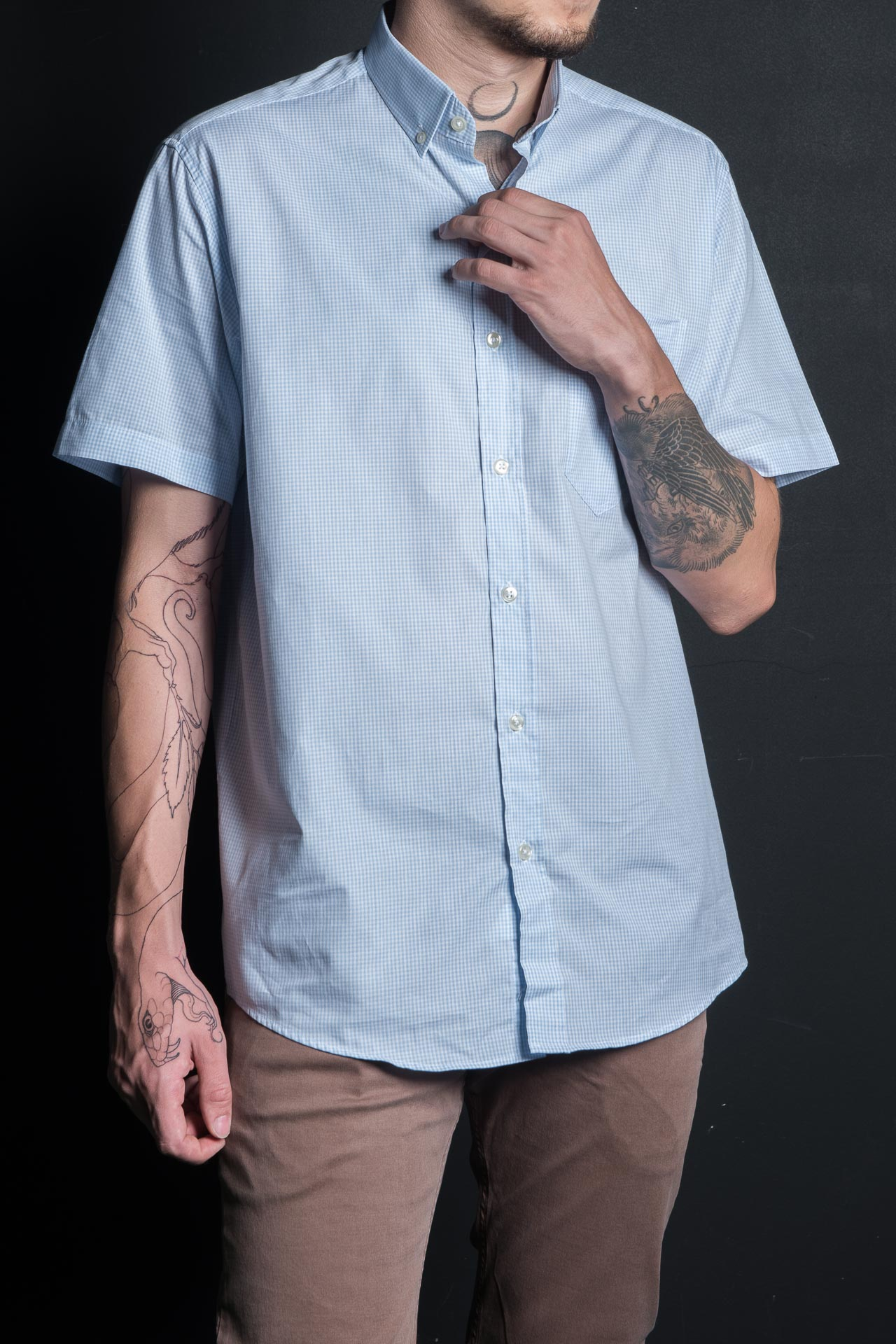 Camisa TXC Brand manga curta 2570C
