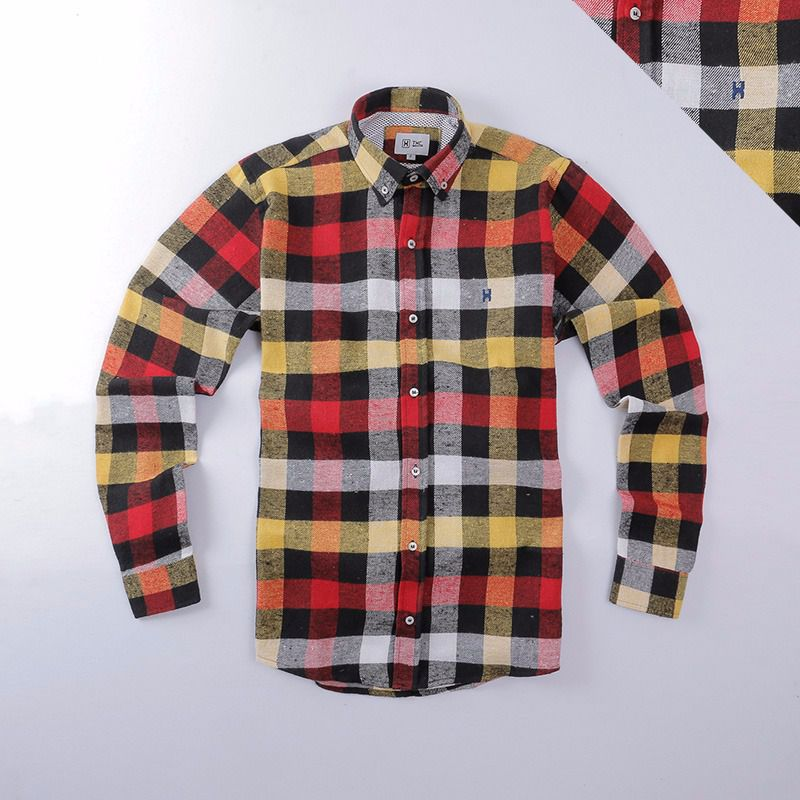 Camisa TXC Brand manga longa  flanelada 2174l