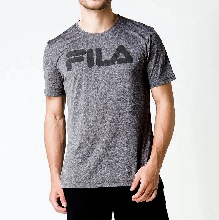 Camiseta Fila DNA Mescla Preto
