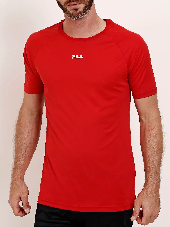 Camiseta Fila Dots Vermelha