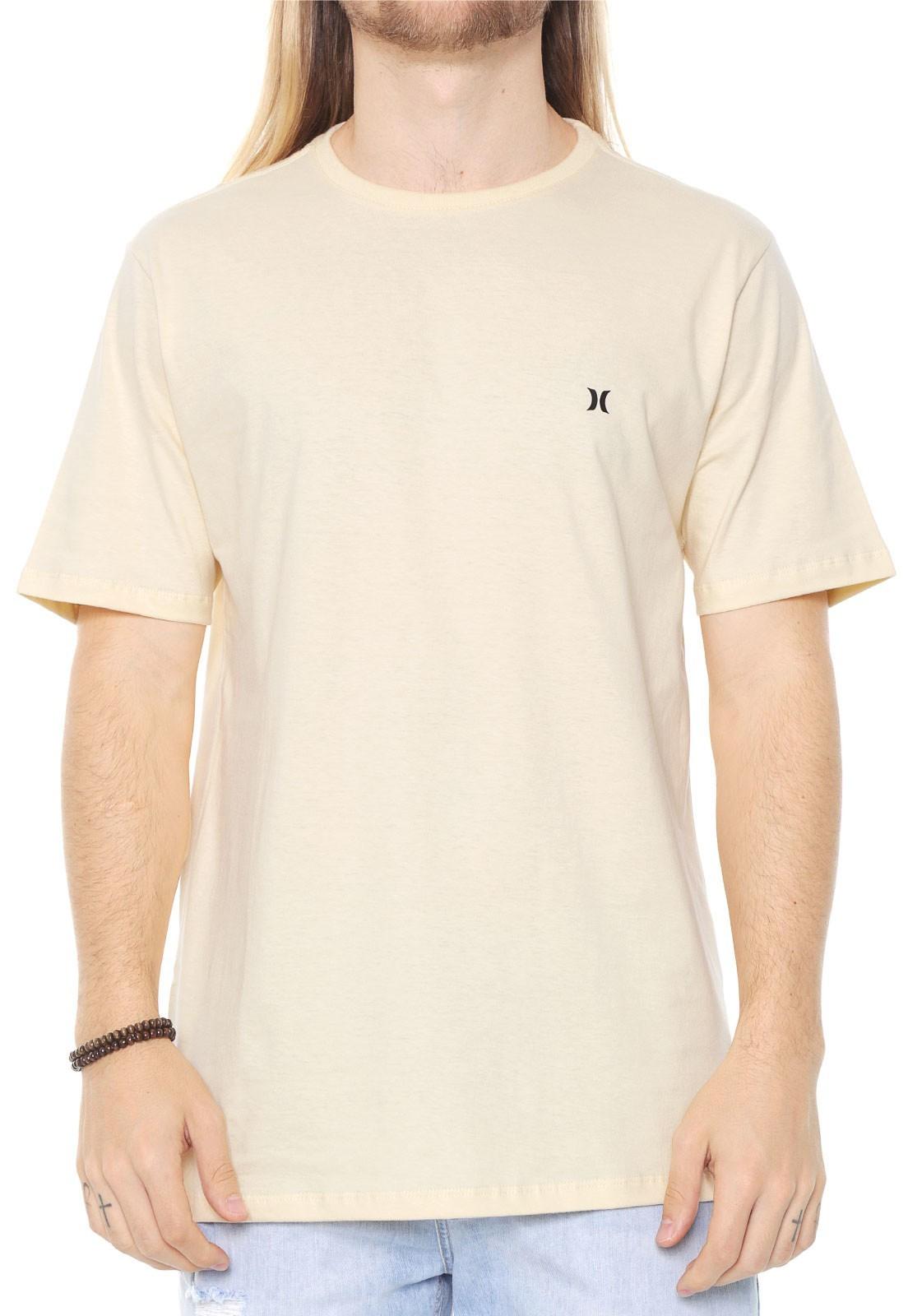Camiseta Hurley vermelho amarelo