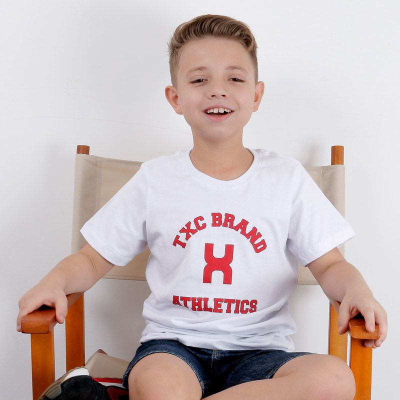 Camiseta infantil TXC Brand 1402I
