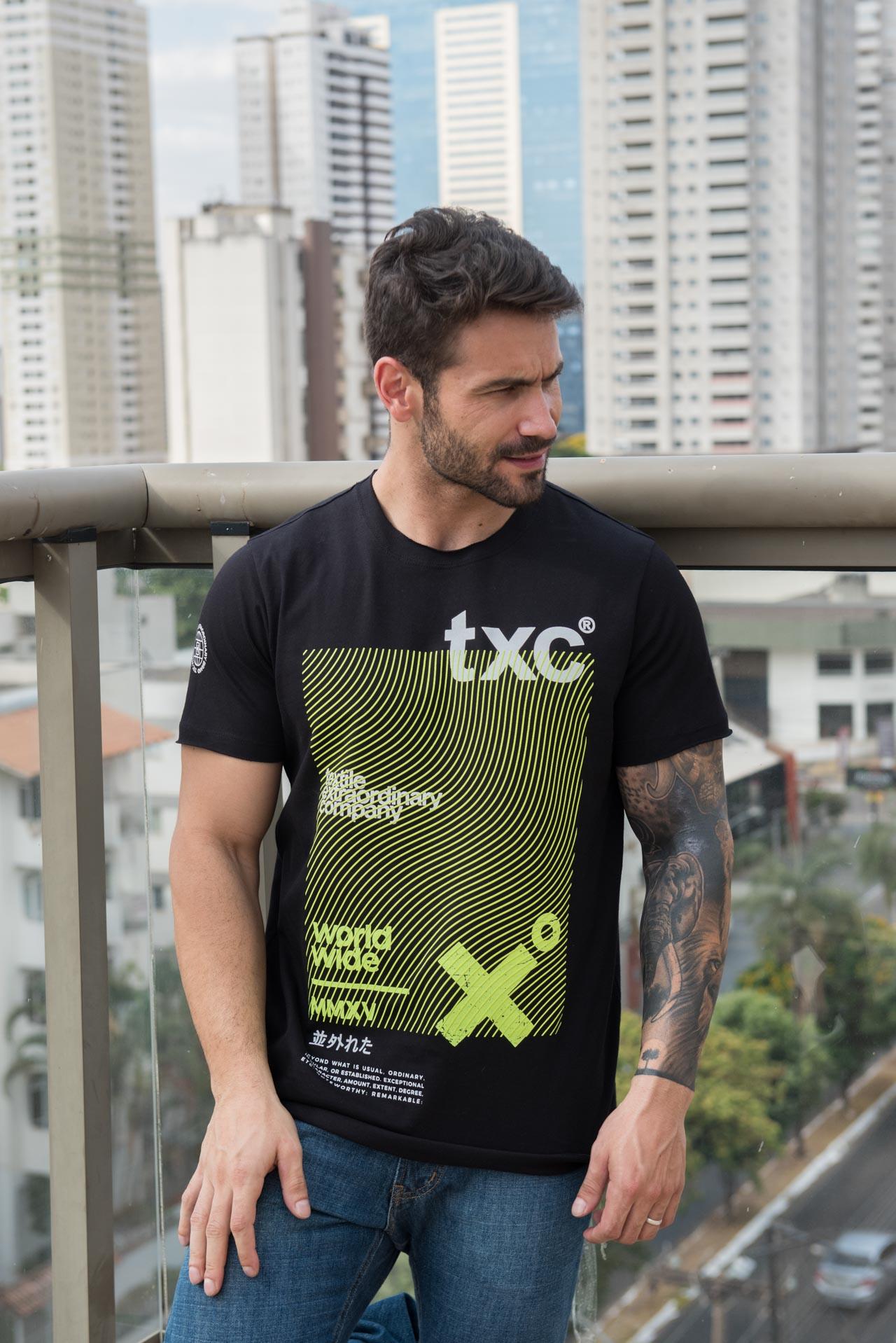 Camiseta TXC Brand 19083