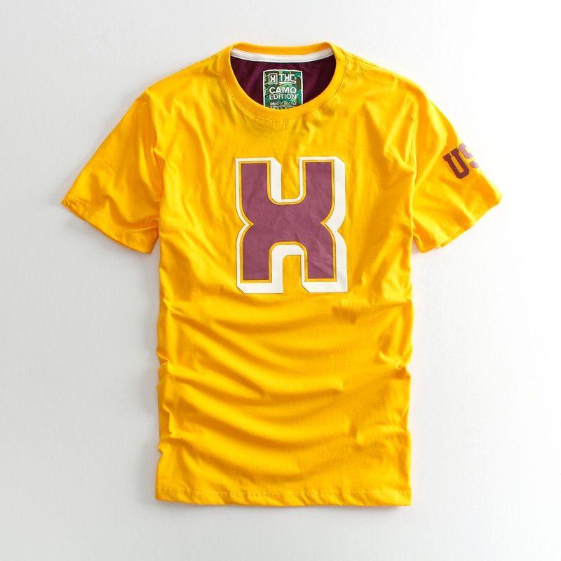 Camiseta  TXC Brand amarela 1198