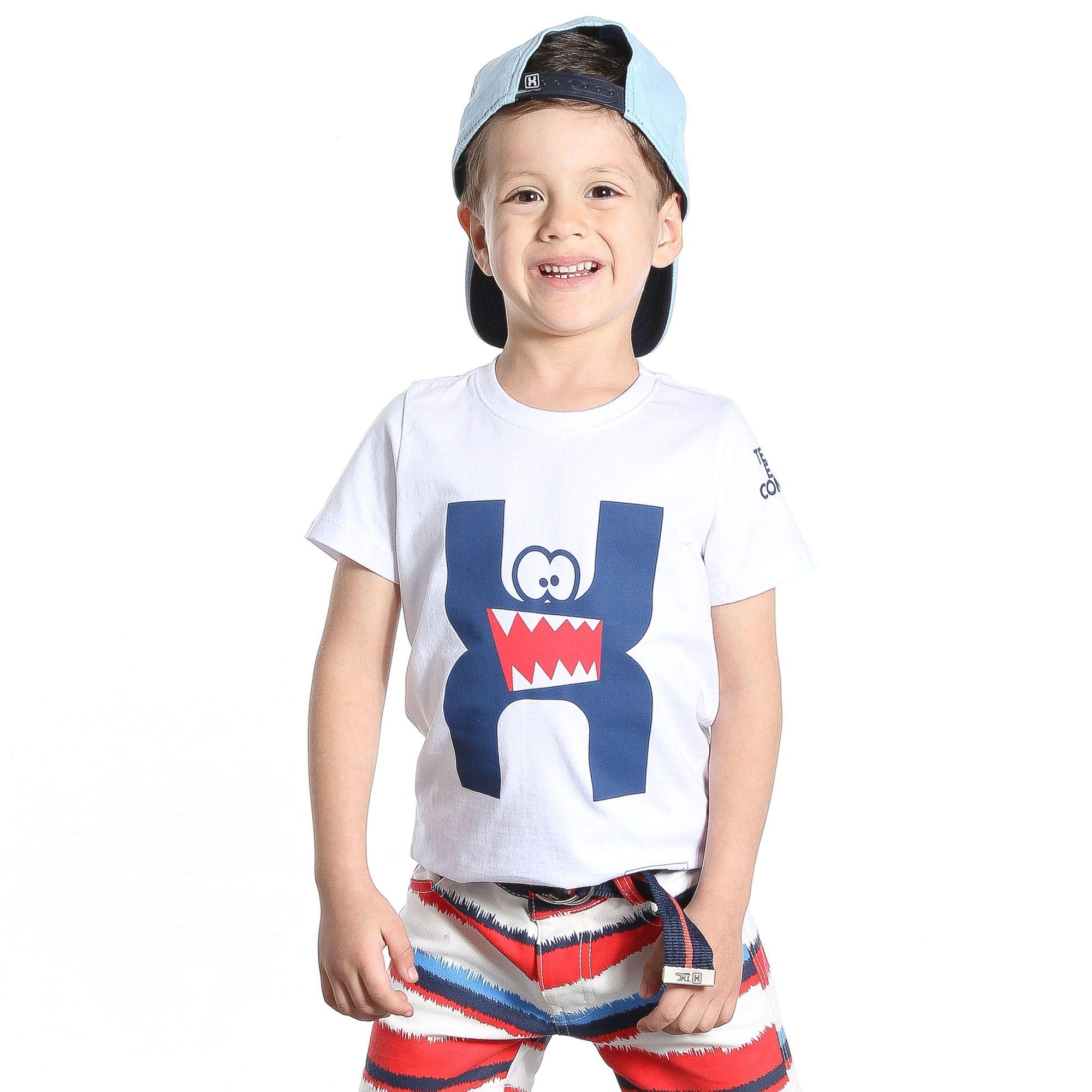 Camiseta TXC Brand Infantil 14040