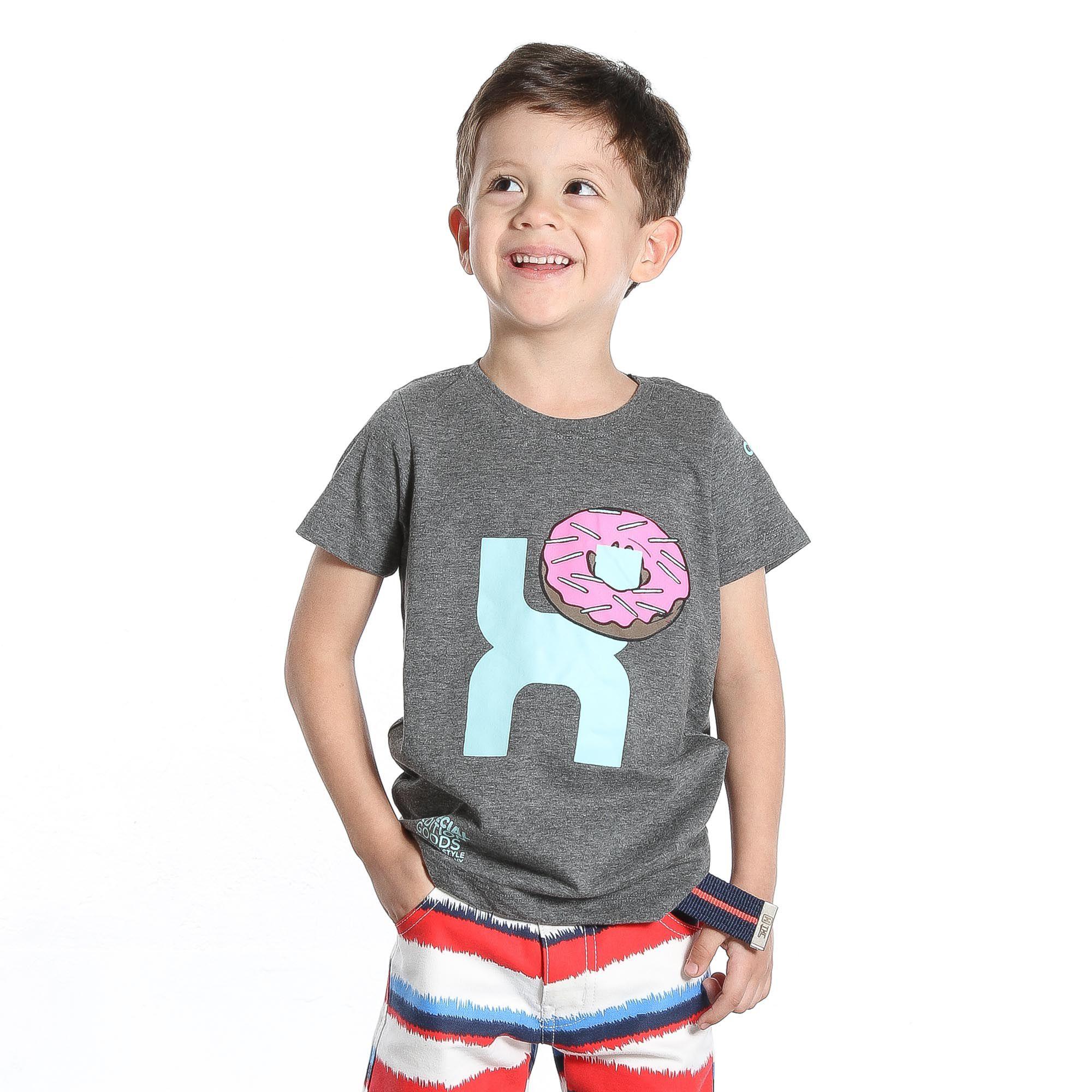 Camiseta TXC Brand Infantil 14043