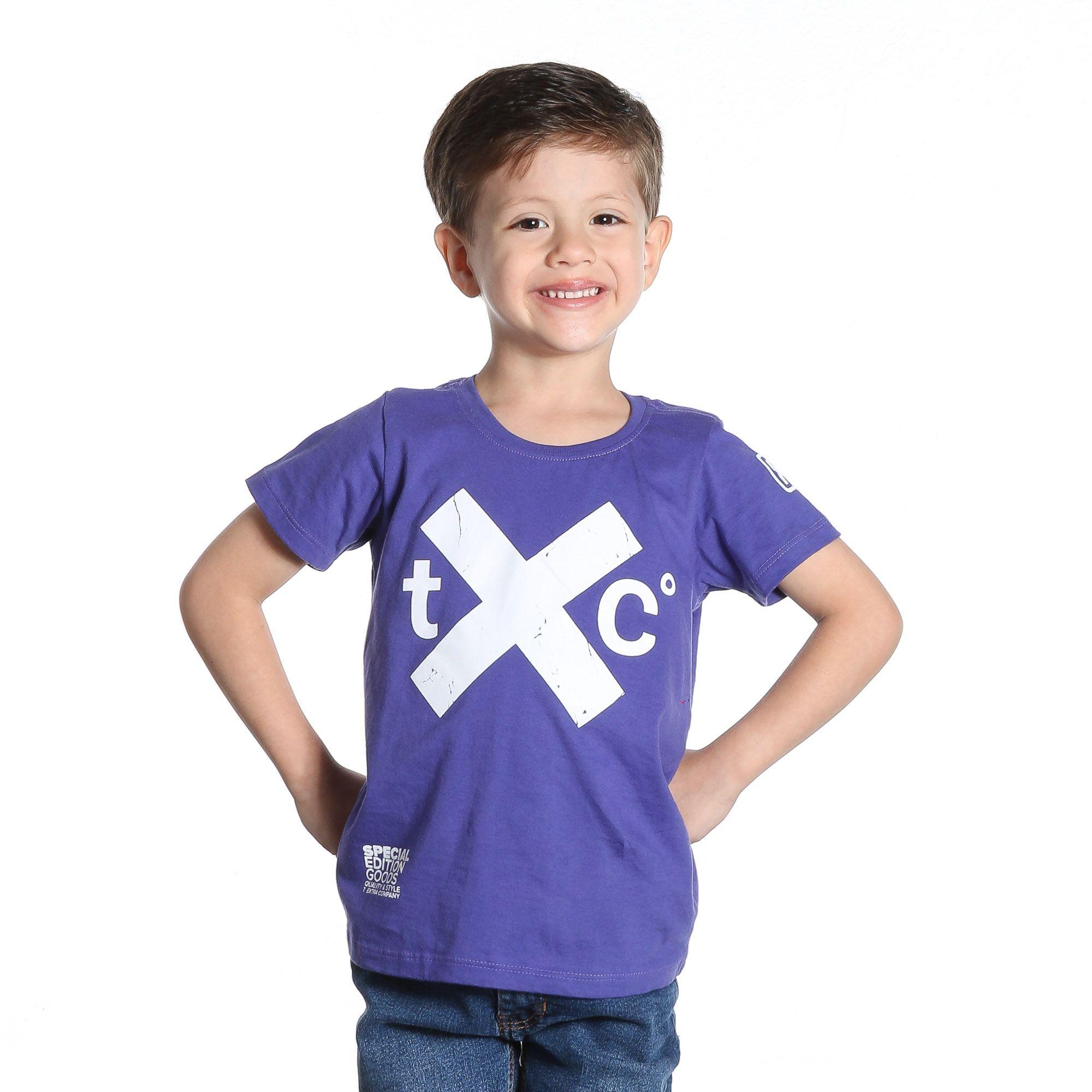 Camiseta TXC Brand Infantil 14045