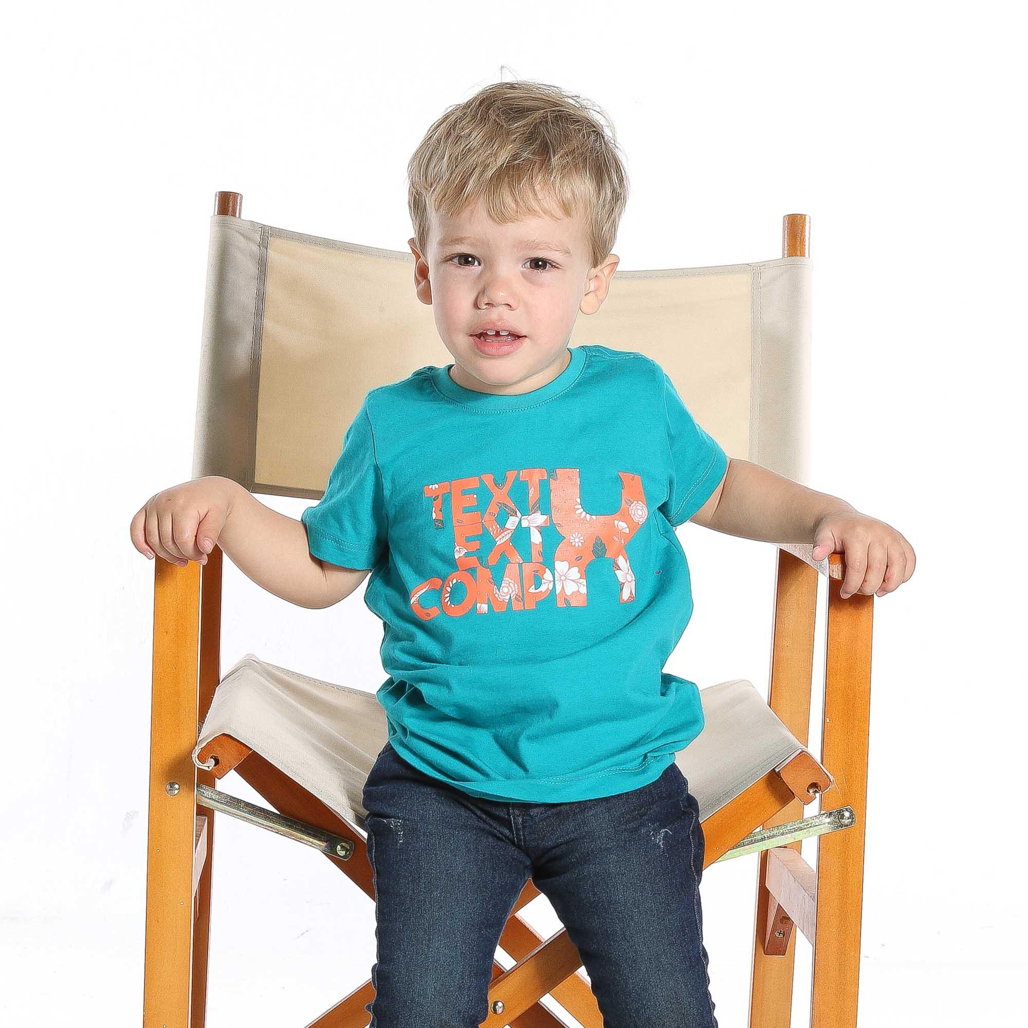Camiseta TXC Brand Infantil 14046