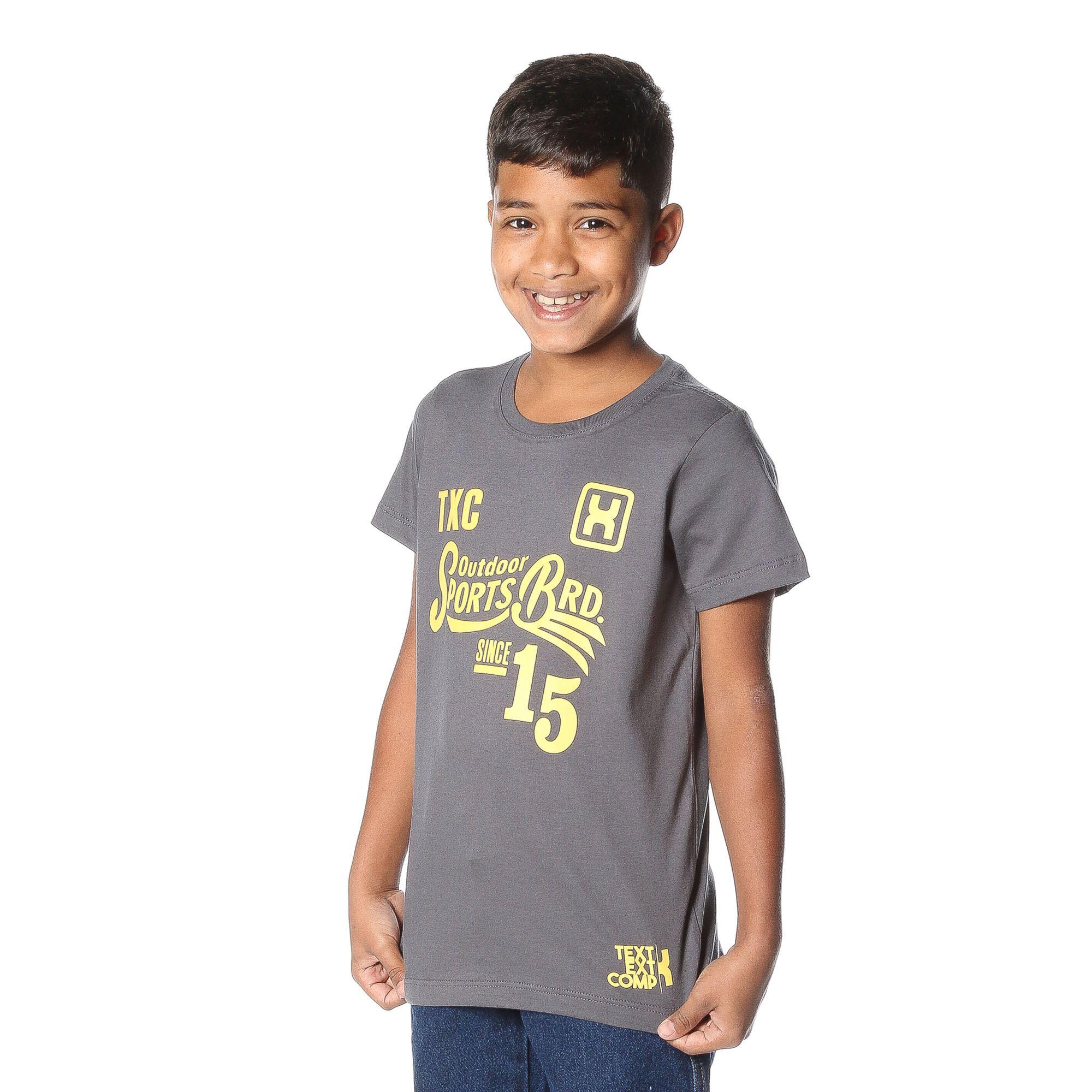 Camiseta TXC Brand Infantil 14077