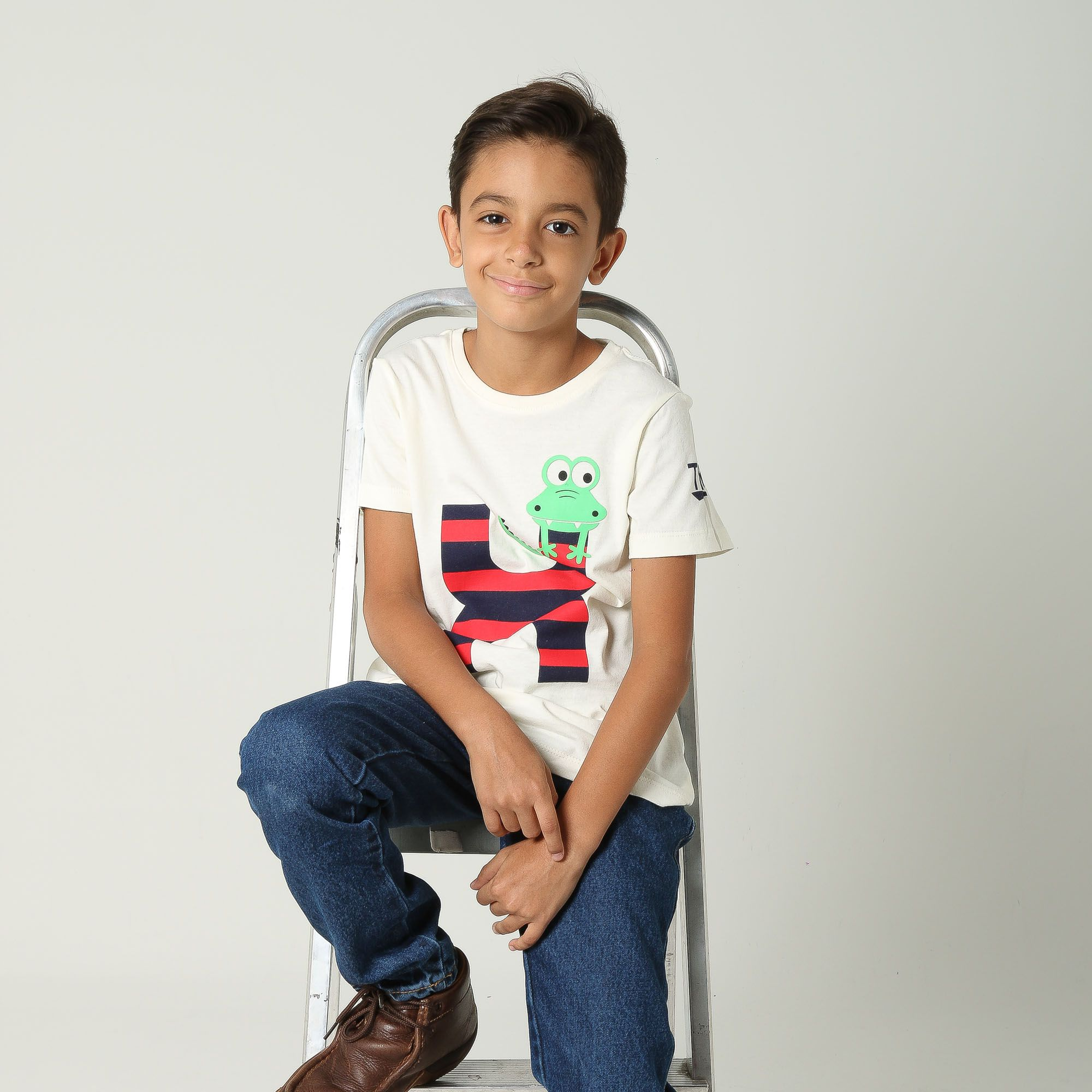Camiseta TXC Brand Infantil 14082
