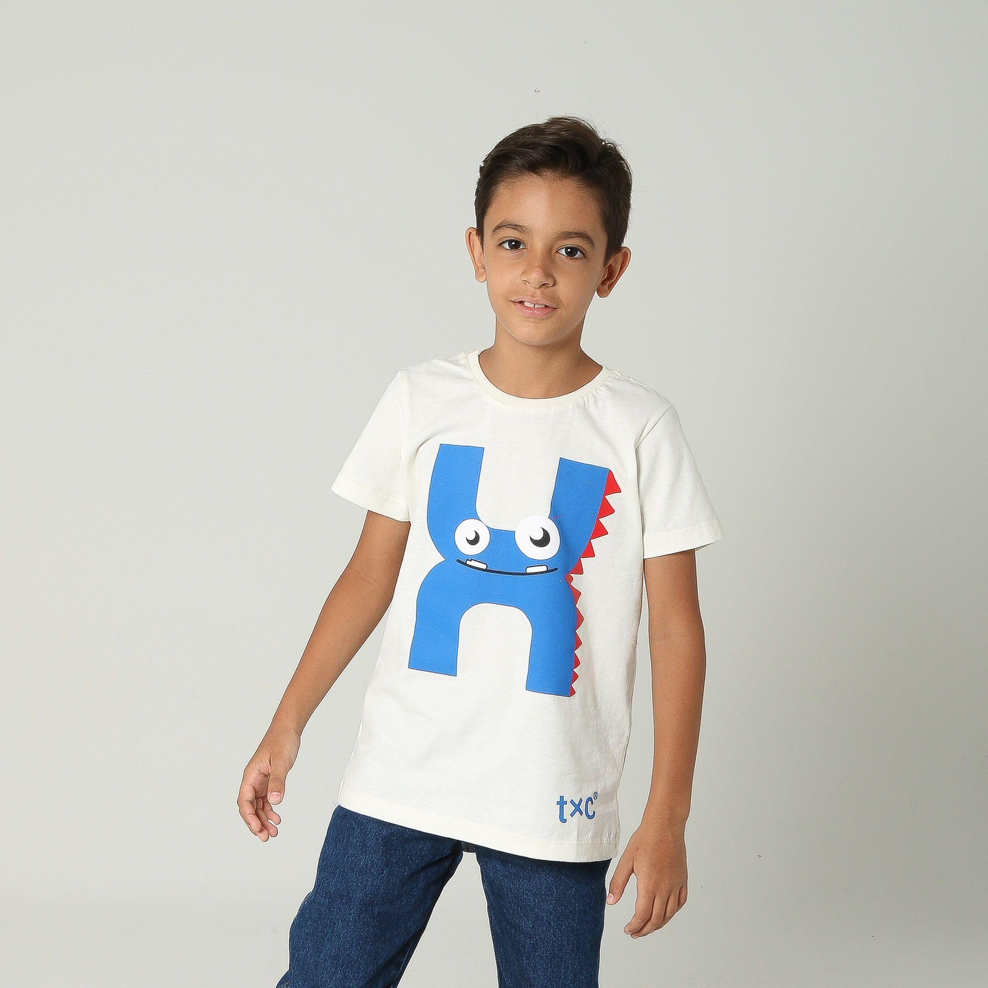 Camiseta TXC Brand Infantil 14083