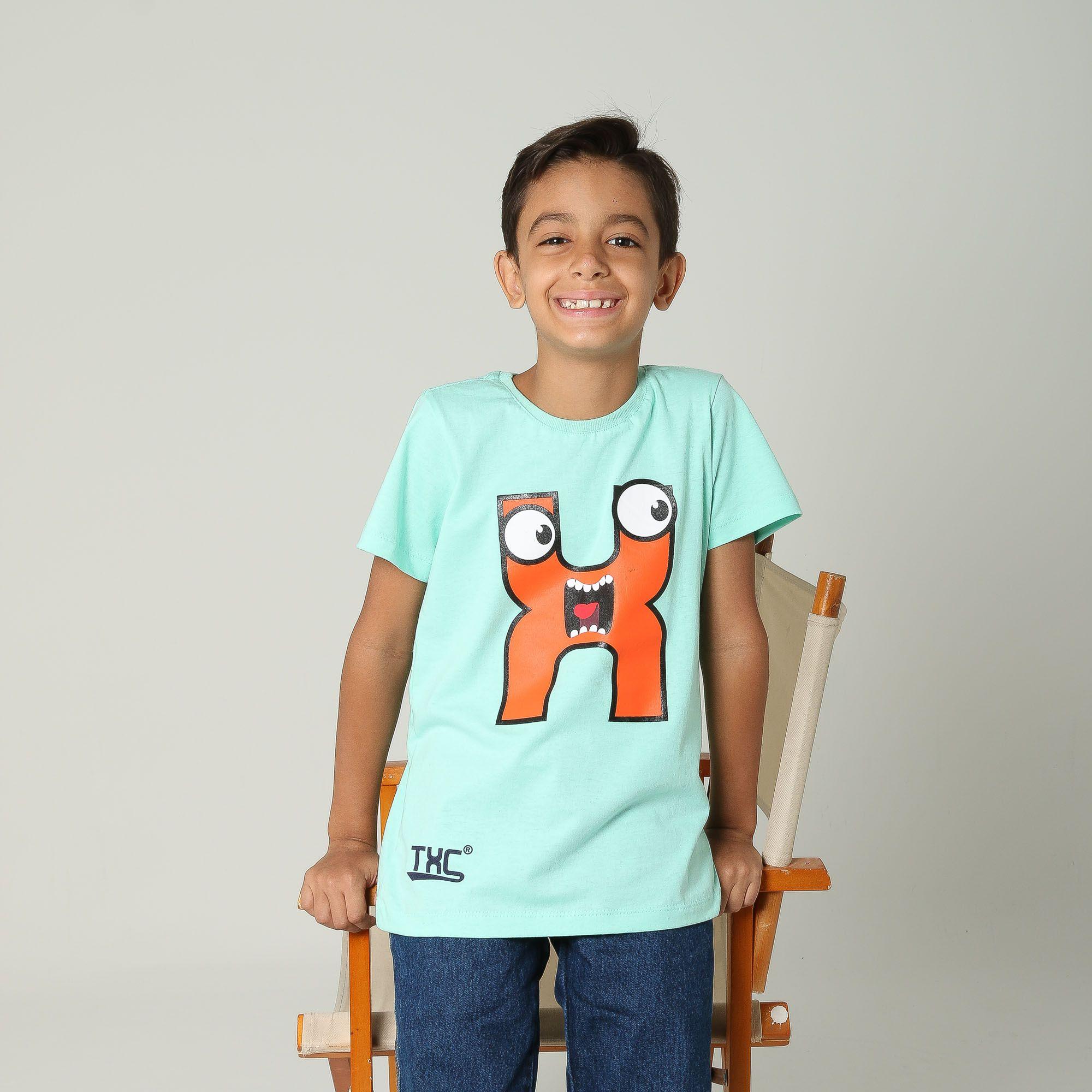 Camiseta TXC Brand Infantil 14084