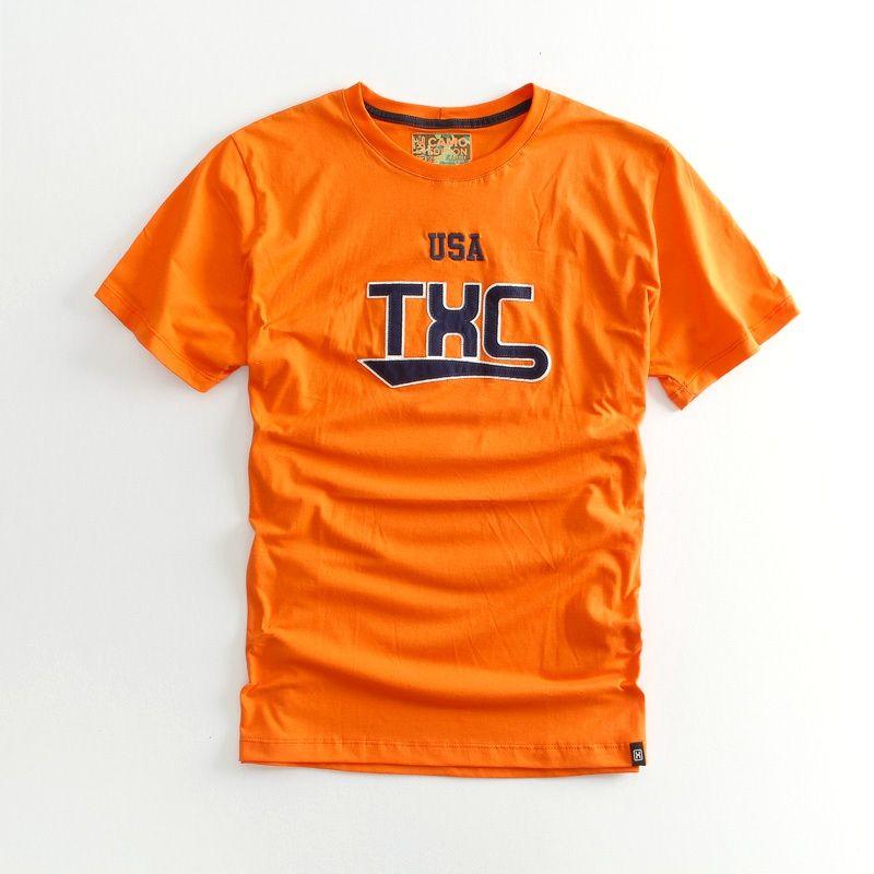 Camiseta  TXC Brand  laranja 1202