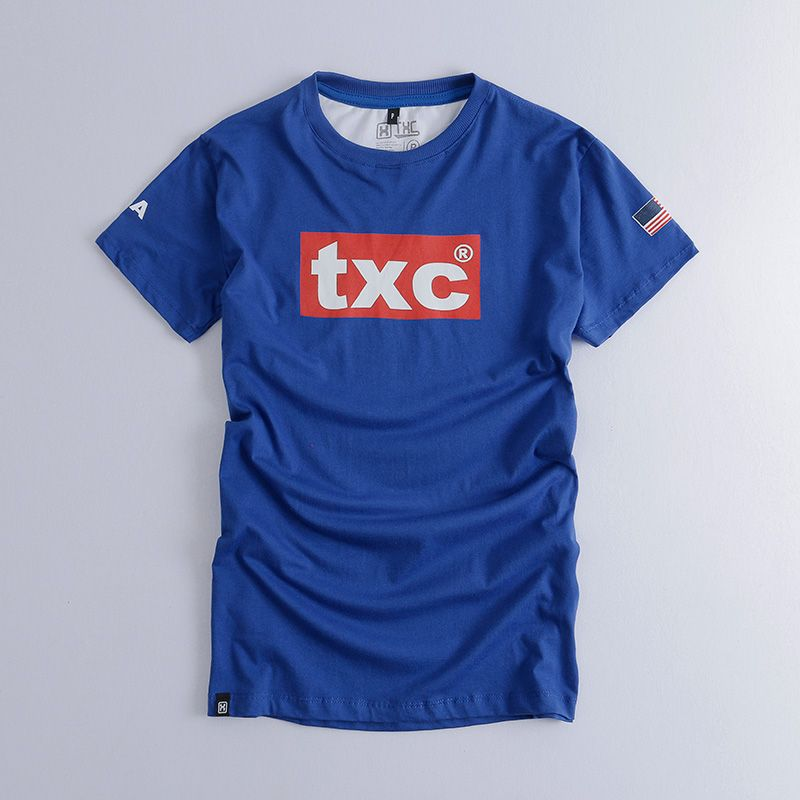 Camiseta  TXC Brand  royal 1227