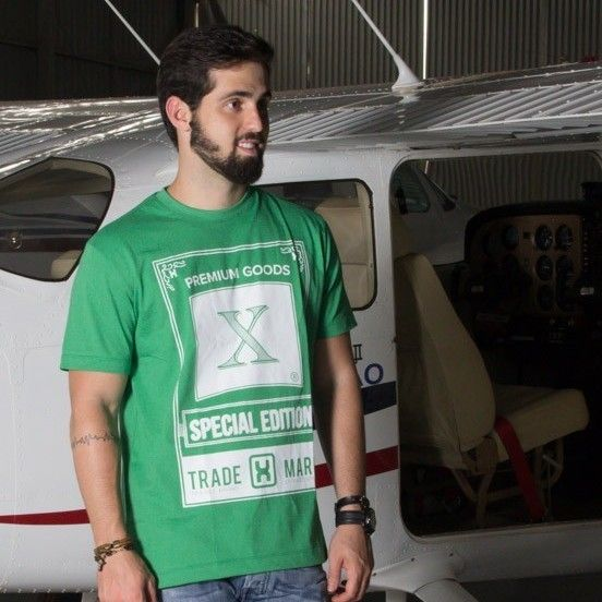 Camiseta TXC  Brand verde 1122