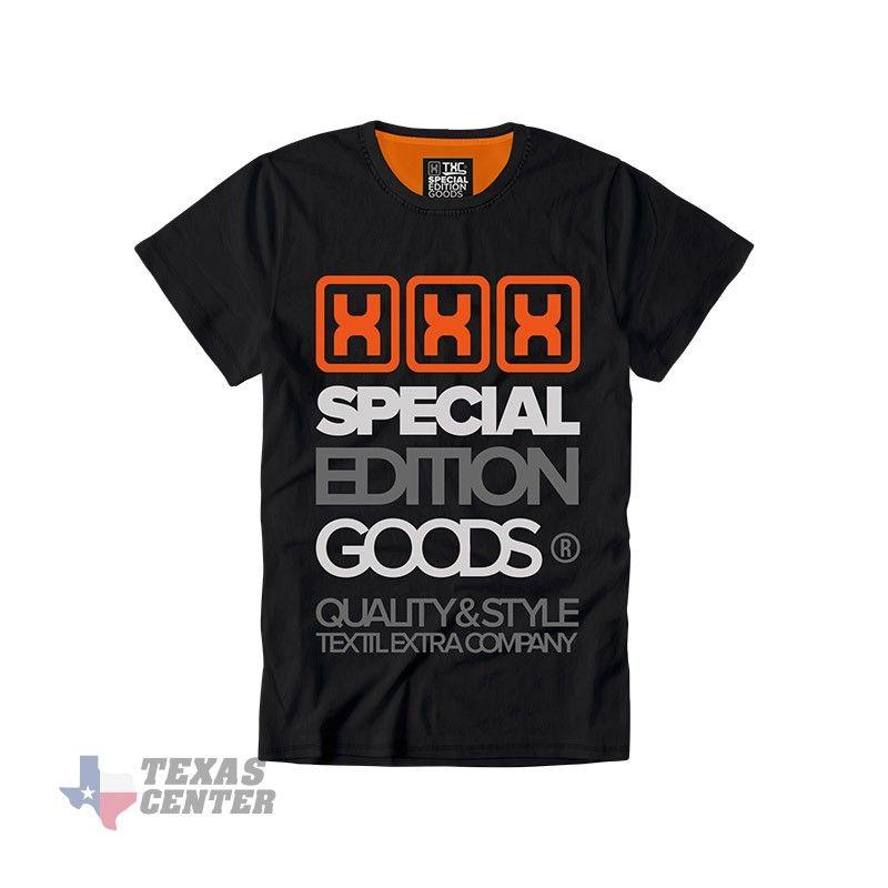 Camiseta TXC Brand Special Edition preta 1123