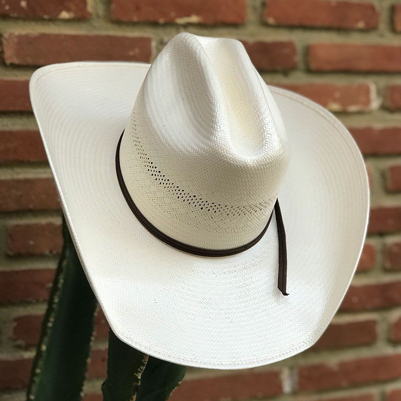 Chapéu de palha Texas center 20X renda