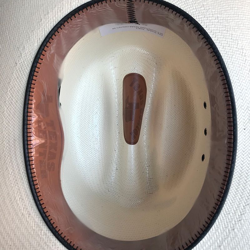 Chapéu de palha Texas Center 20X Shantung