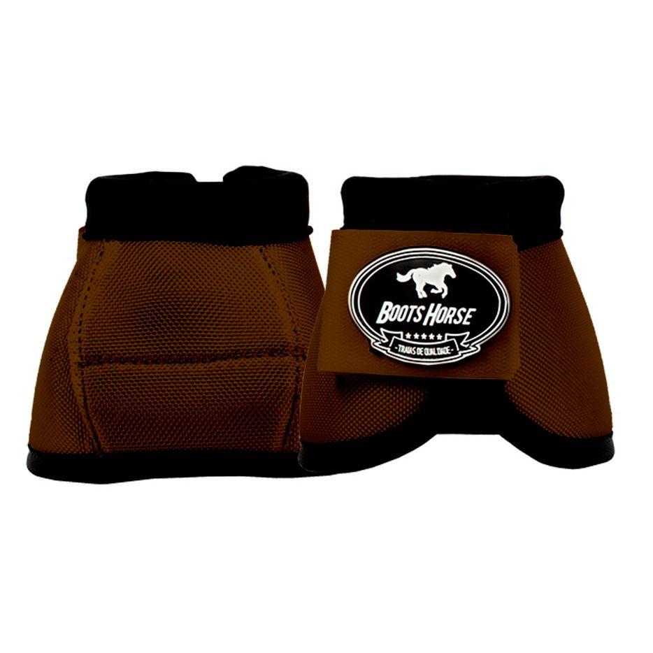 Cloche Boots Horse Marrom