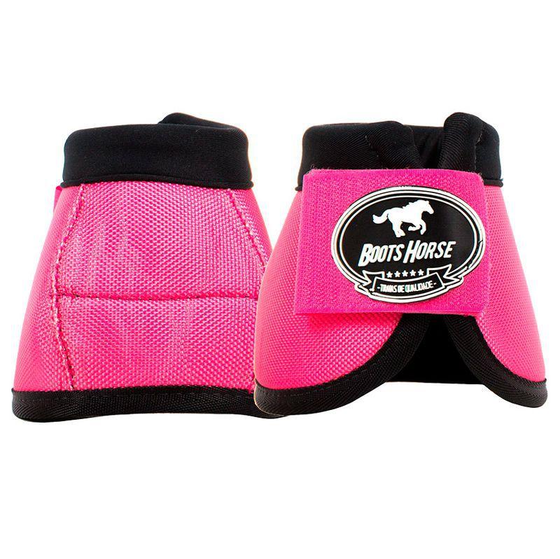 Cloche Boots Horse Rosa