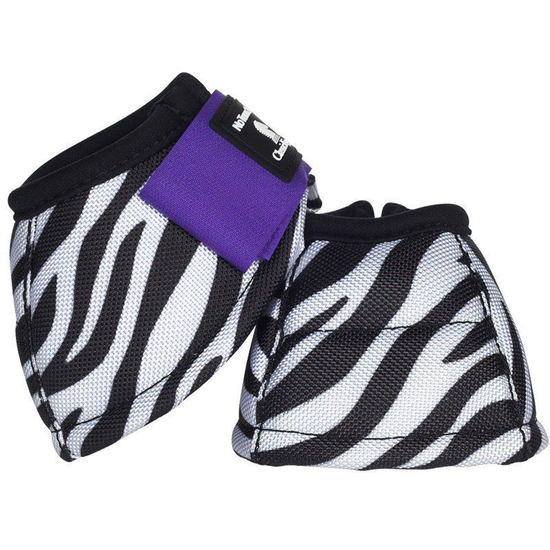 Cloche Classic Equine Dynohyde No-Turn Zebra