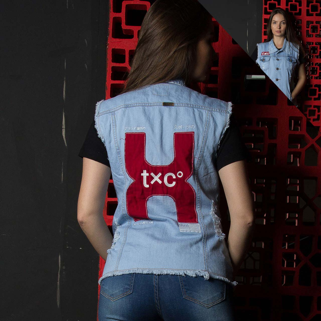 Colete TXC Brand Jeans 5028F2