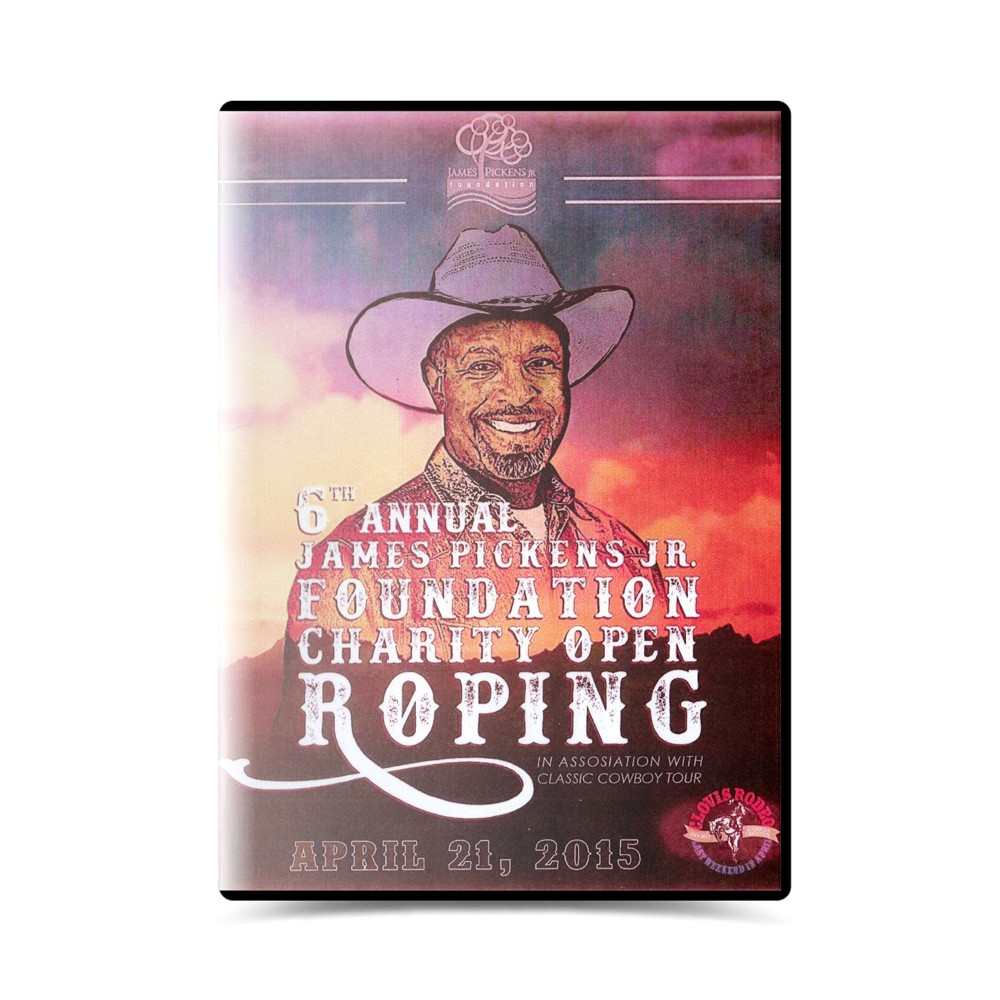 Dvd- James Pickens JR. 6º Annual foundation charity open