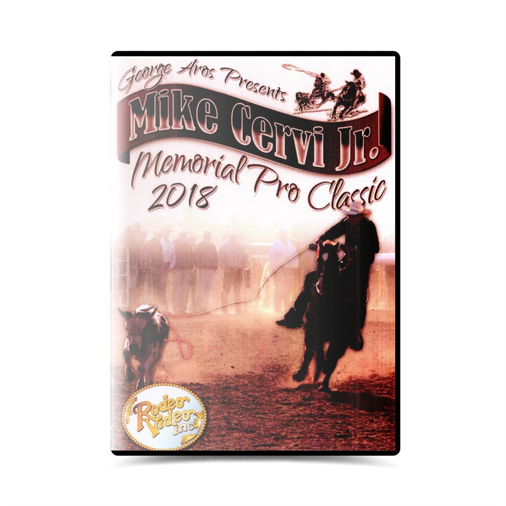 Dvd Mike Cervi Jr. Memorial Pro Team Roping Classic 2018