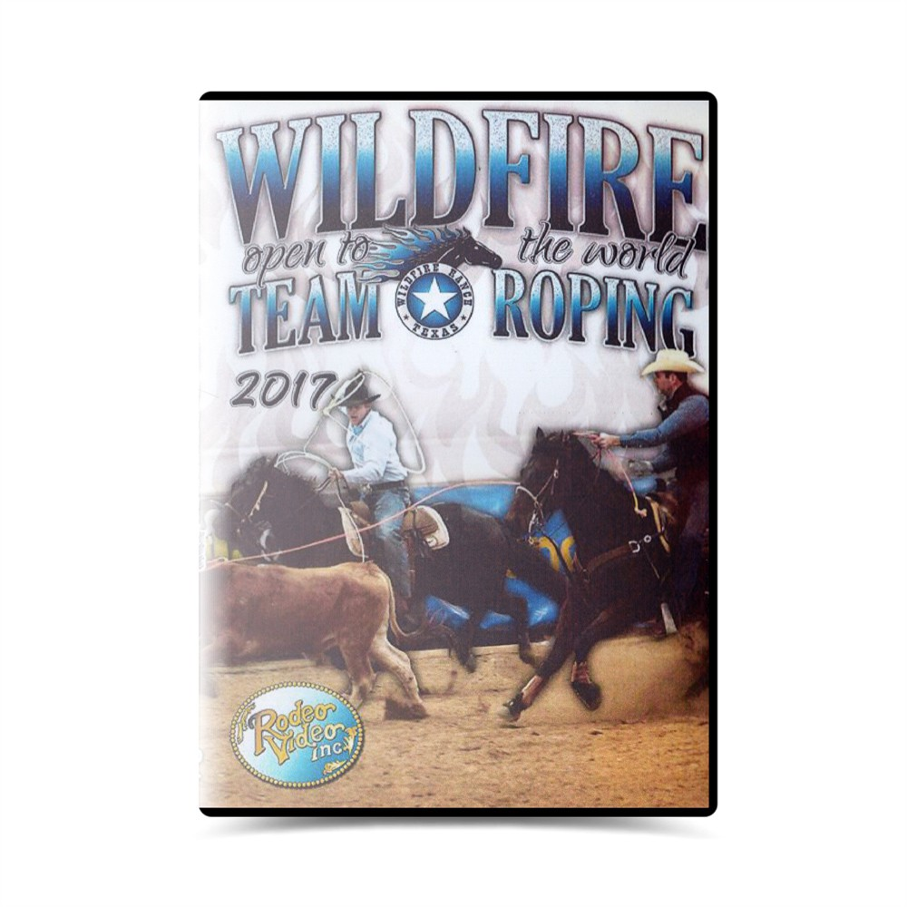 Dvd- Wildfire open to the world team roping 2017