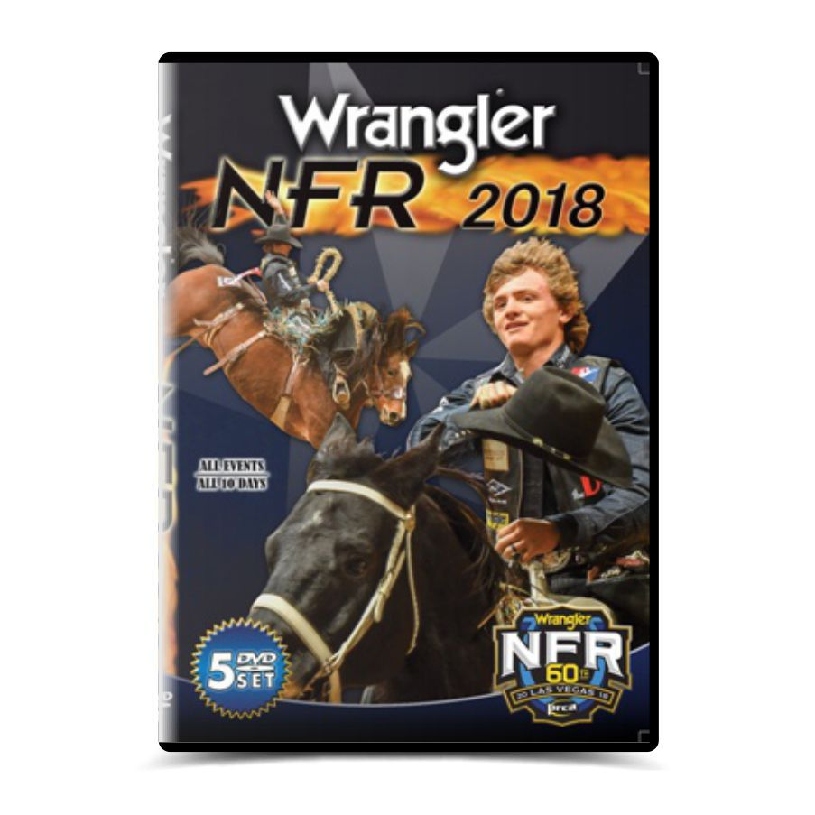 Dvd Wrangler NFR - National Finals Rodeo 2018