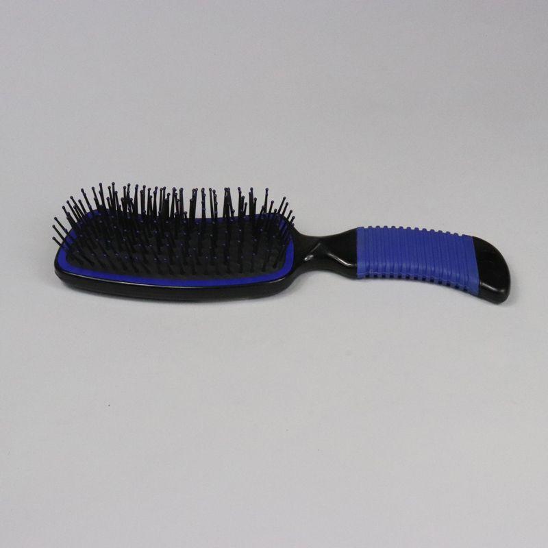 Escova para cavalo com cerdas de Nylon - Azul