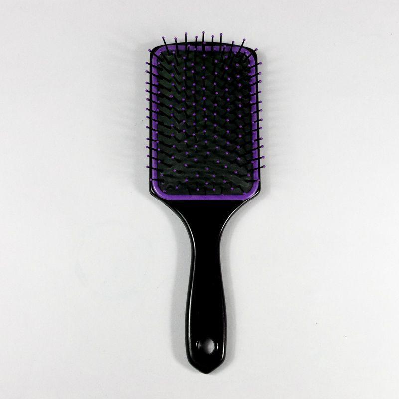 Escova para cavalo com cerdas de Nylon - lilas
