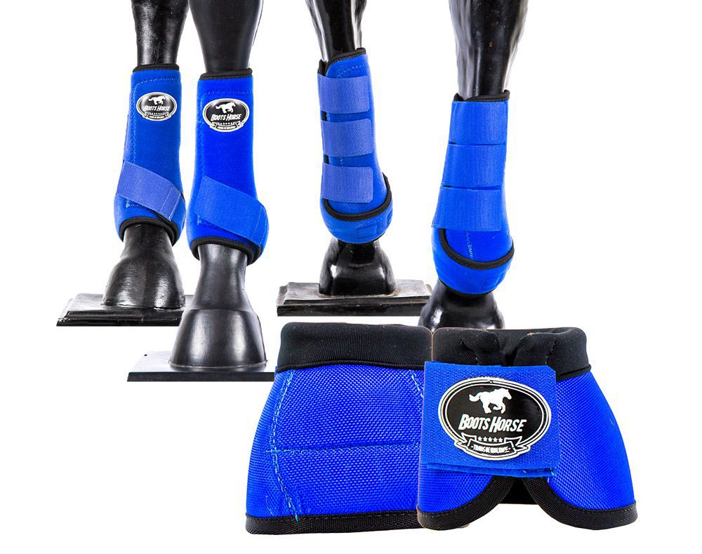 Kit Boots Horse Ventrix Completo Color Azul Royal