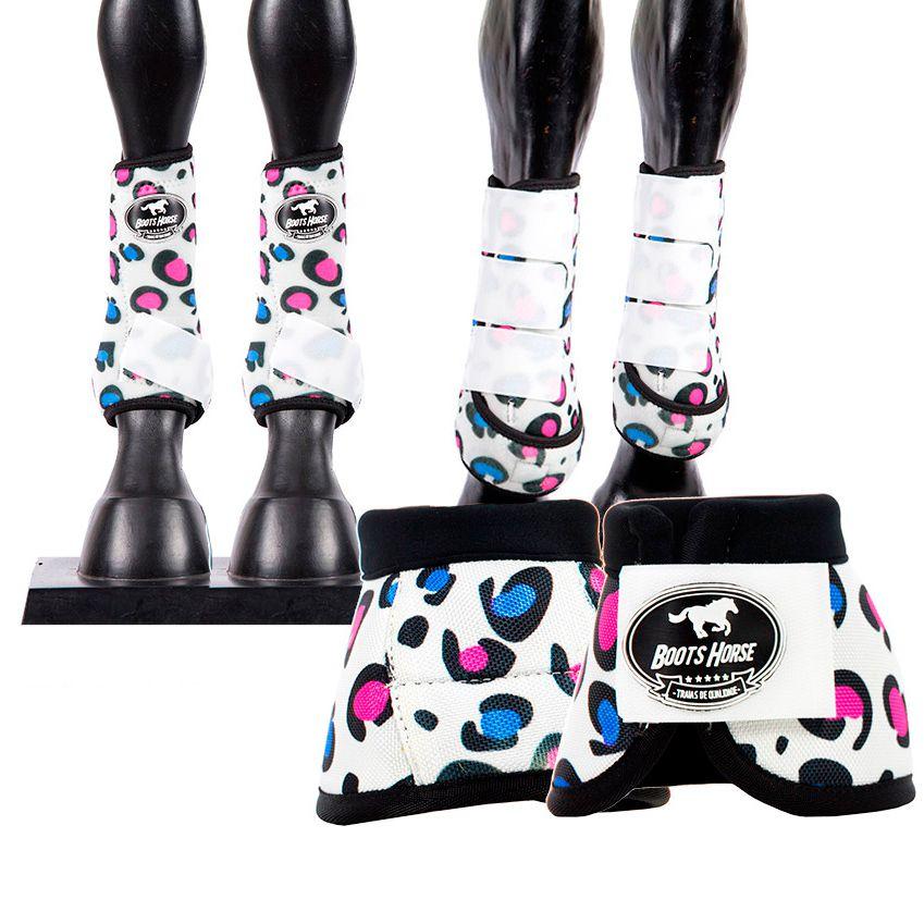 Kit Boots Horse Ventrix Completo Estampado 03
