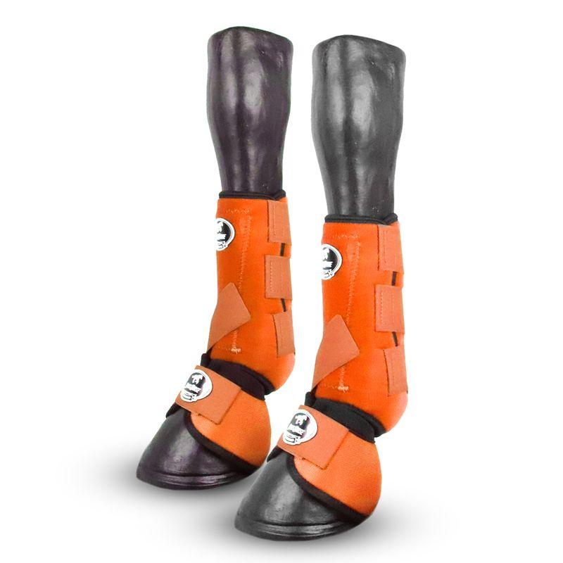 Kit Boots Horse Ventrix Dianteiro Laranja